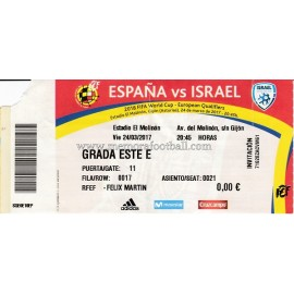Spain vs Israel (24-03-2017) 2018 FIFA World Cup qualifier