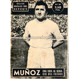 """MUÑOZ"" Idolos del Deporte (1958)"