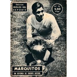 """""""MARQUITOS"""" Idolos del Deporte (1958)"""