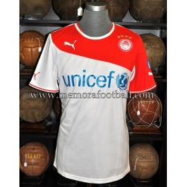 """NELSON VALDEZ"" Olympiacos 2013-14 match worn"