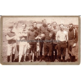 Photograph of an unidentified early American soccer team