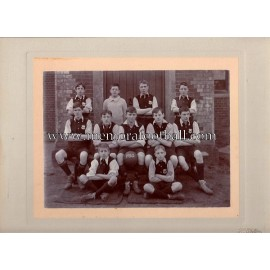 Football junior team unidentified, 1910
