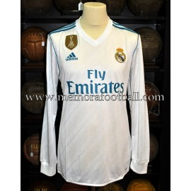 """SERGIO RAMOS"" Real Madrid CF LFP 2017-18 match un worn shirt"