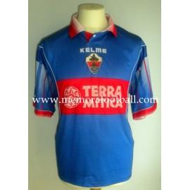 ELCHE CF Nº12 LFP 1999-2000 Camiseta usada de pretemporada