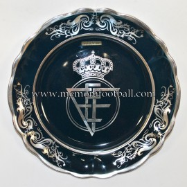 Real Federación Española de Fútbol ceramic plate, 1970s
