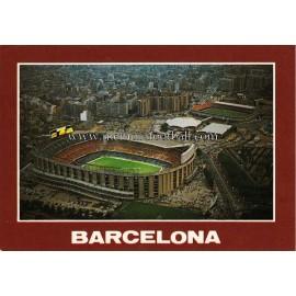 Tarjeta postal del Estadio Nou Camp (FC Barcelona) 1960s