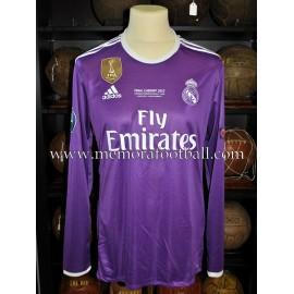 """SERGIO RAMOS"" Real Madrid CF UEFA Champions League Final 2016-2017 match unworn shirt"