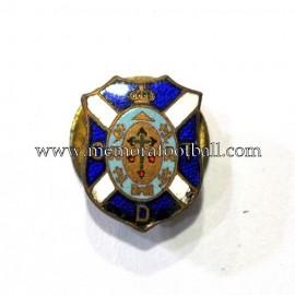 Old CD Tenerife (Spain) enameled badge