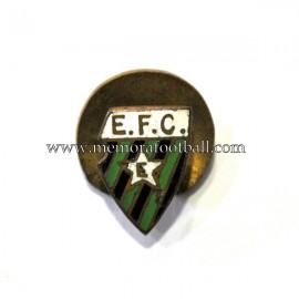 Antigua insignia esmaltada del Europa FC (Gibraltar)