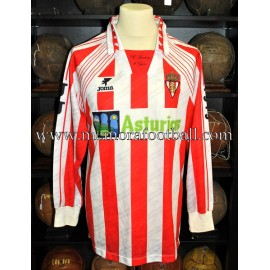 """SPORTING DE GIJÓN B"" 1995-96 match worn shirt"