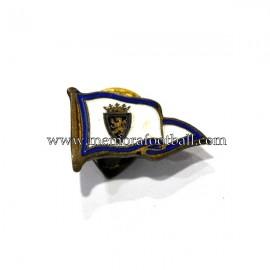 Real Zaragoza enameled badge 1940-50