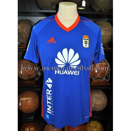 """OWUSU"" Real Oviedo LFP 2017-18 match worn"