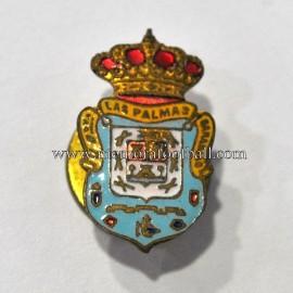 Antigua insignia esmaltada de la UD Las Palmas (España) c.1950