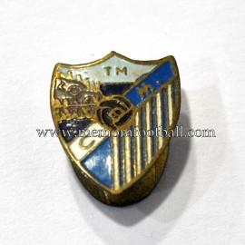 Antigua insignia de la CD Málaga (España) 1950