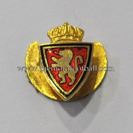 Insignia esmaltada de solapa del Real Zaragoza