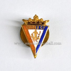 Cadiz CF (Spain) enameled badge 1950s