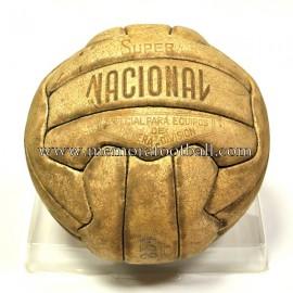 """Balón """"Super NACIONAL"""" Oficial Liga Española Primera División, años 60"""