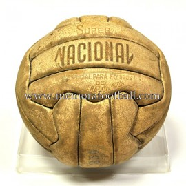 """Super NACIONAL"" Official Ball Spanish League 1960s"