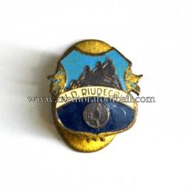 Antigua insignia del U.D. Ruidecols (España)