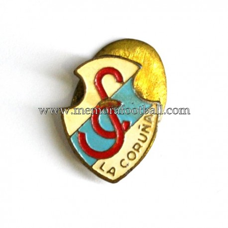Antigua insignia del S.C. La Coruña (España)