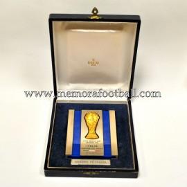Placa de Italia Campeón del Mundo. España 1982