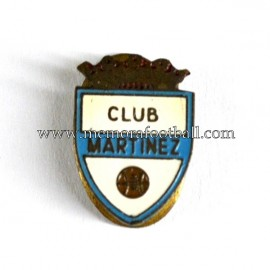 Old Club Martínez (Spain) enameled badge