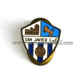 Antigua insignia esmaltada del San Javier CF (España)