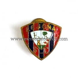 Antigua insignia esmaltada del Lejona F.C (España) 1920-30