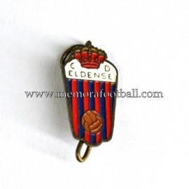 Antigua insignia esmaltada del CD Eldense (España)