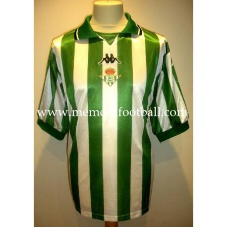 """""""BORNES"""" Real Betis Balompié LFP 1999/2000 Kappa Home SS match worn shirt"""