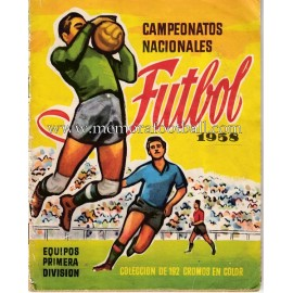 """Campeonatos Nacionales Futbol"" 1958 sticker album"