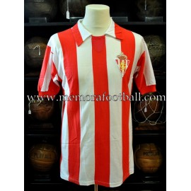 """QUINI"" Sporting de Gijón 1970s match worn shirt"