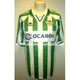 Real Betis nº 12 Paulao match worn Fußball-Artikel Fußball-Trikots