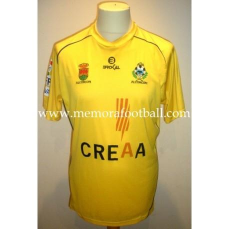 """NINO"" AD Alcorcón nº 19 LFP 2011/2012 Brokal size L SS match worn shirt"