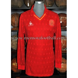 """MARTÍN VÁZQUEZ"" Spain National Team 1989-90 match worn shirt"
