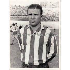 """Fotografía original de """"FERENC PUSKAS """"Atlético de Madrid vs Botafogo 26-06-1959"""