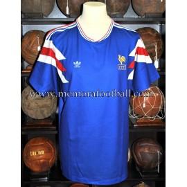Selección Francesa Sub-16 Campeonato de Europa 1991 match worn