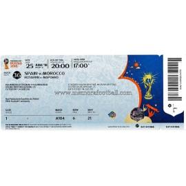 Spain vs Morocco - 2018 FIFA World Cup ticket