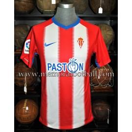 """MOLINERO"" Sporting de Gijón 08-10-2018 vs Rayo Majadahonda match worn shirt"