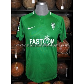 """CARMONA"" Sporting de Gijón 2017-2018 match worn shirt"
