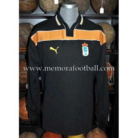 """RUBÉN SUÁREZ"" Real Oviedo 2000-2001 match unworn shirt"