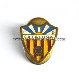 CD Cataluña badge, 1960s