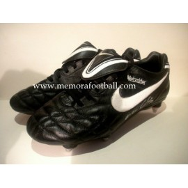 """CHRISTOPH METZELDER"" Real Madrid 2010-2011 match worn boots"