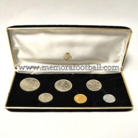 Colección oficial de monedas Campeonato Mundial Fútbol España 1982