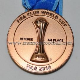 Medalla de Bronce de árbitro 2018 FIFA Club World Cup