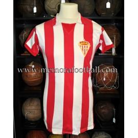 """ENZO FERRERO"" Sporting de Gijón vs Birmingham City 05/08/1978 match worn shirt"