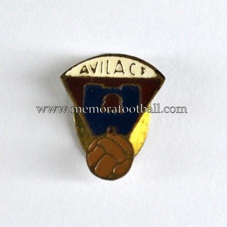 Insignia antigua del Avila CF 1960s