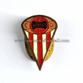 CD Hernán badge, 1960s