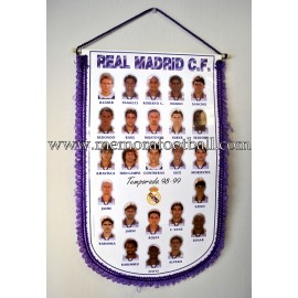Banderín del Real Madrid 1998-99
