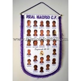 Real Madrid 1998-99 pennant